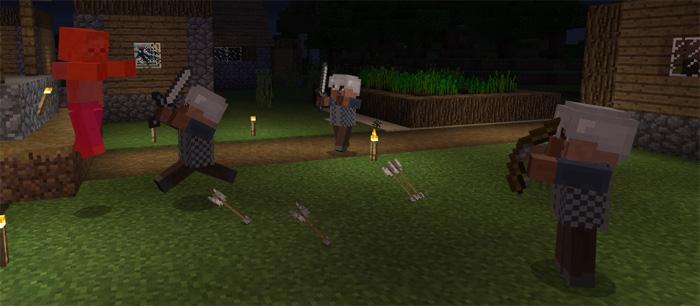 Village Guards Addon   Minecraft PE Mods & Addons