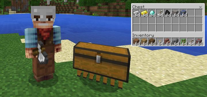 Chest Pet Add-on   Minecraft PE Mods & Addons