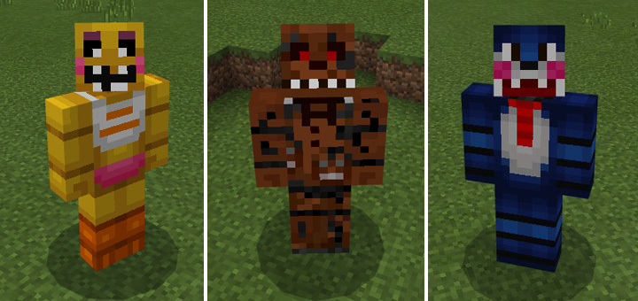 Fnaf pets addon minecraft pe mods addons there are five different resource packs to choose between download and use the one based on which characters you want in your game gumiabroncs Choice Image