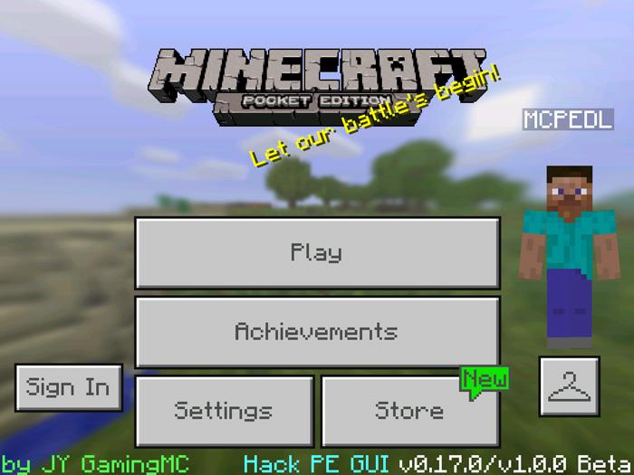 GUI Hack PE Addon   Minecraft PE Mods & Addons