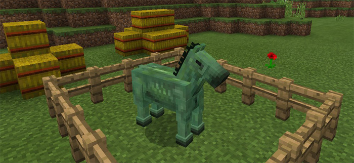 Rideable Zombie Horses Addon for MCPE MinecraftPE