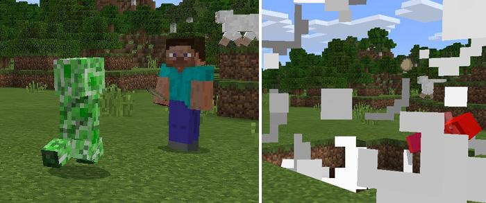 TrollersCraft Addon Minecraft PE Mods Addons - Skin para minecraft pe de apixelados