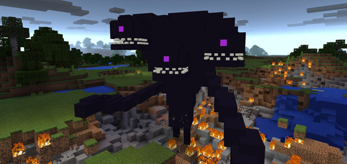 Wither Storm Add On Minecraft Pe Mods Addons