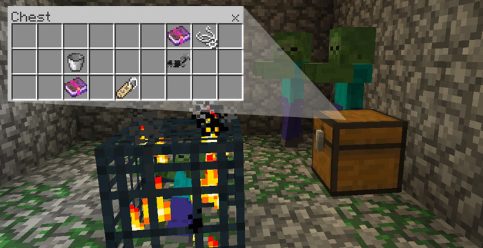 Ilovewarriors Zombie Dungeon Under Spawn Minecraft Pe Seeds