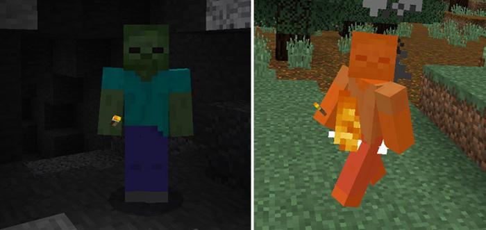 Zombie Mode Addon Minecraft PE Mods Addons - Skin para minecraft pe zombie