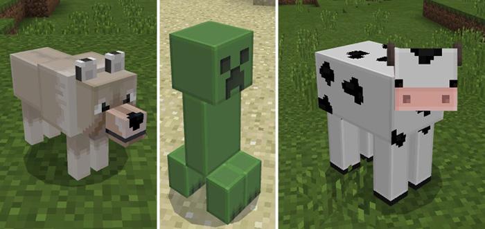 mob skins minecraft