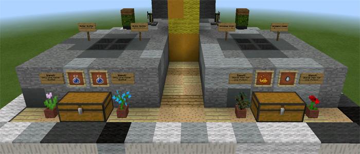 Working Brewing Stand Redstone 1 2 Only Minecraft
