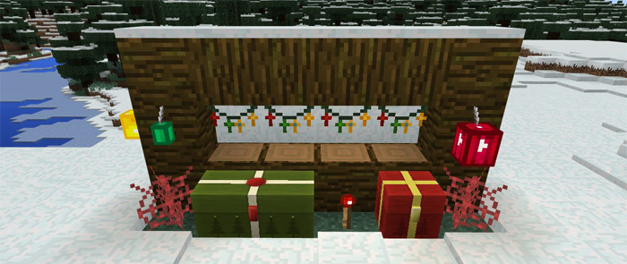 Christmas Minecraft Decorations.Christmas Decorations Texture Pack Minecraft Pe Texture Packs
