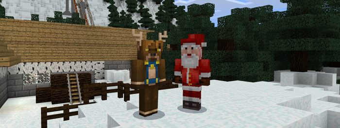 Minecraft Christmas Map.Christmas Map Contest Winners Announced Ended