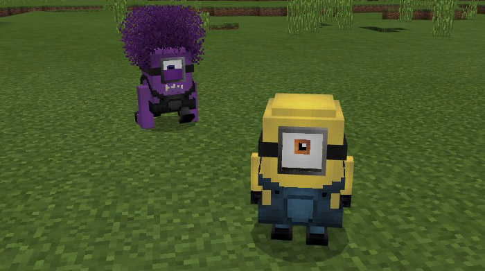 Minions Add On Minecraft Pe Mods Addons