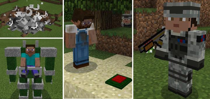 Jimbo's Modern Weapons Add-on | Minecraft PE Mods & Addons