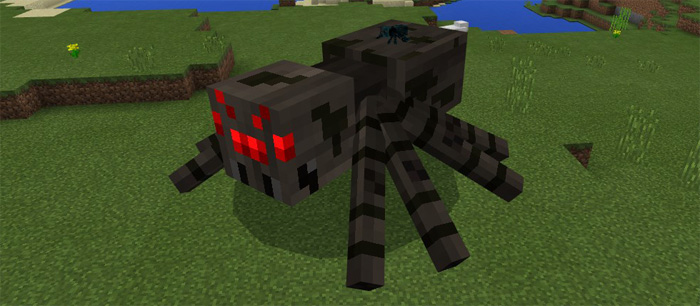 Spider Queen Boss Add On Minecraft Pe Mods Addons