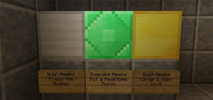 Minecraft Redstone Secret Door