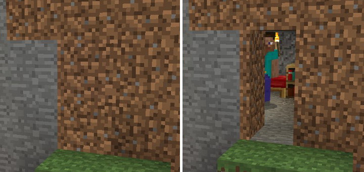 Camouflage Doors Resource Pack Minecraft Pe Texture Packs