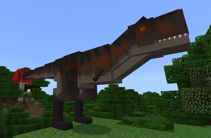 Jurassic craft add on minecraft pe mods addons carnotaurus growth stages gumiabroncs Gallery