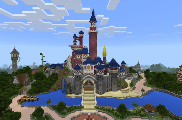 DisneyPark (Theme Park) [Creation] | Minecraft PE Maps