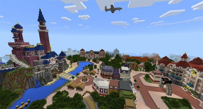 "Карта ""Disney Park"""