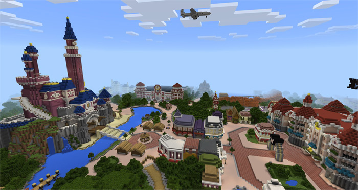 Disneypark theme park creation minecraft pe maps creator emilecar twitter account updated 4 april 2017 read changelog gumiabroncs Image collections