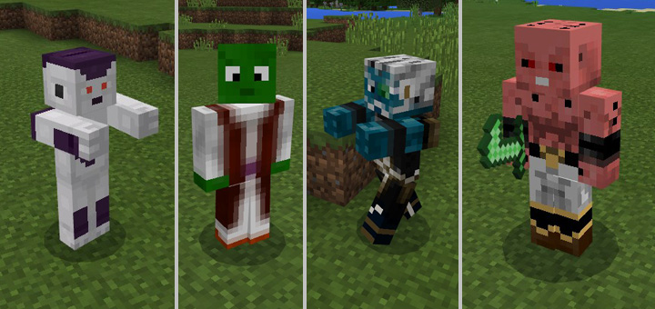 Dragon Craft Z Addon Minecraft PE Mods Addons - Skin para minecraft pe de dragon ball z