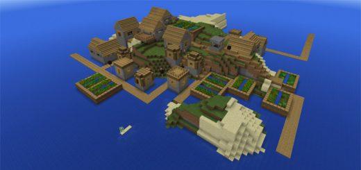 769542525: Small Village Island