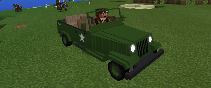 Jeeps Addon Minecraft Pe Mods Addons