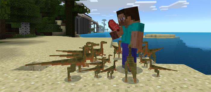 Jurassic Craft Add-on   Minecraft PE Mods & Addons