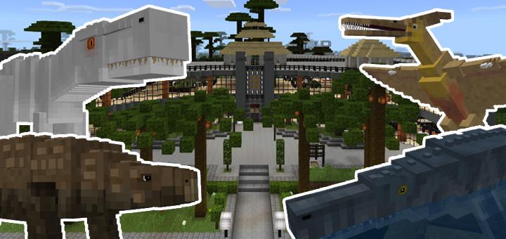 Jurassic Craft Add-on | Minecraft PE Mods & Addons