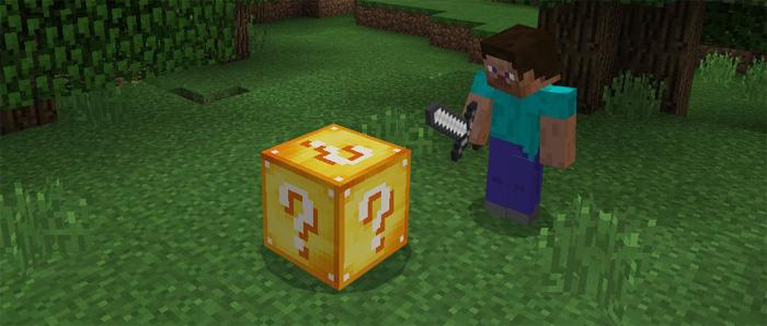 Lucky Block Addon | Minecraft PE Mods & Addons