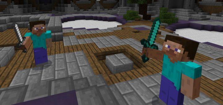 Карта Fancy Invaders [PvP] для Minecraft PE 0.11.1, 0.11.0