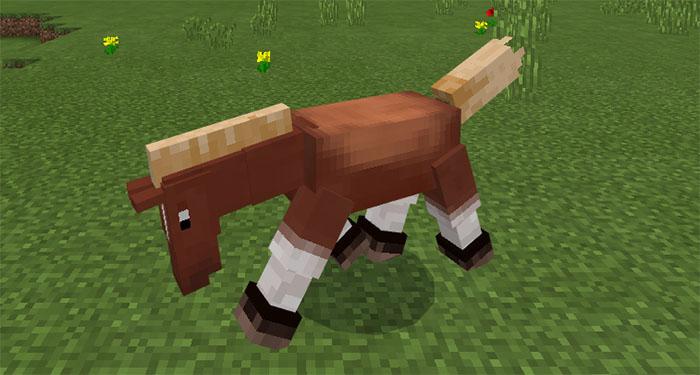 mutant horse
