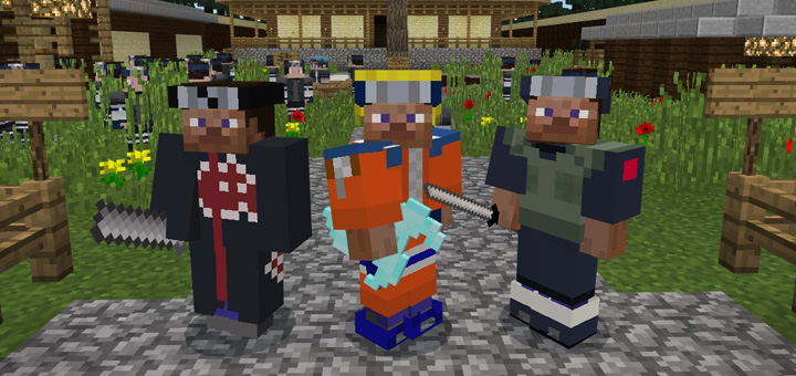 download addons naruto minecraft pe