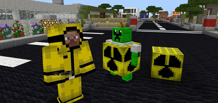 nuke addon minecraft pe mods addons
