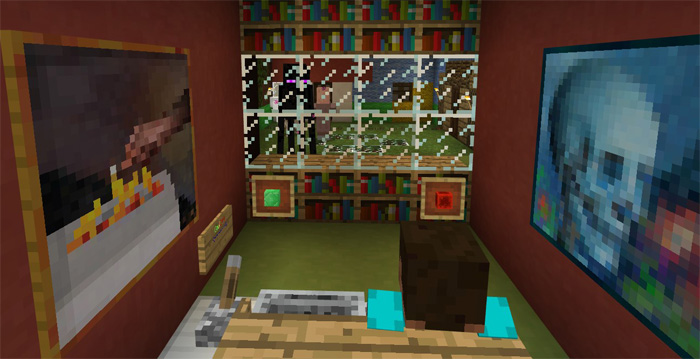 how to make a tv in minecraft. Working TV [Redstone] How To Make A Tv In Minecraft