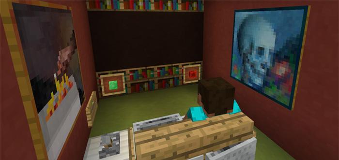 working tv redstone minecraft pe maps