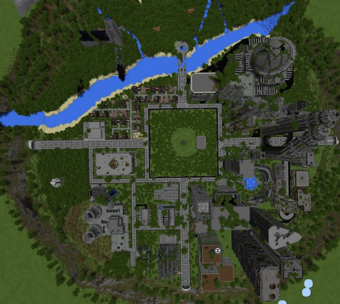 Apocalyptic City (Survival Games) [PvP] | Minecraft PE Maps