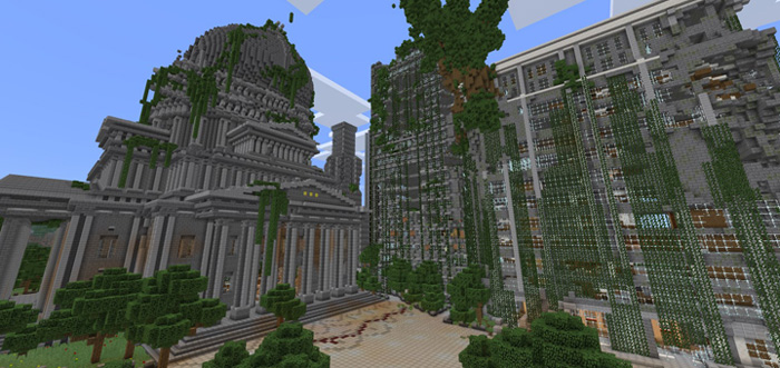 Apocalyptic City (Survival Games) [PvP] | Minecraft PE Maps