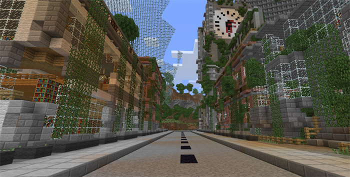 Apocalyptic City Survival Games Pvp Minecraft Pe Maps