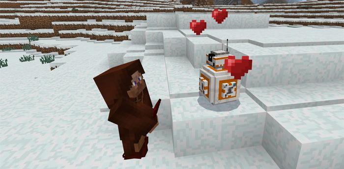 BB A Star Wars Addon Minecraft PE Mods Addons - Minecraft star wars spiele kostenlos
