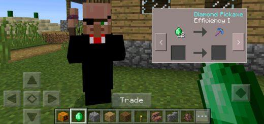 Black Market Villager Addon (Only 1.0.4) & PocketDecoration Mod (Android) | Minecraft PE Mods u0026 Addons
