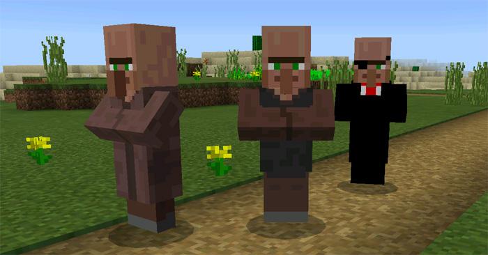 Black Market Villager Addon (Only 1 0 4) | Minecraft PE Mods & Addons