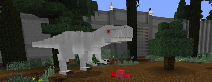 Jurassic Craft World Creation Addon Minecraft Pe Maps