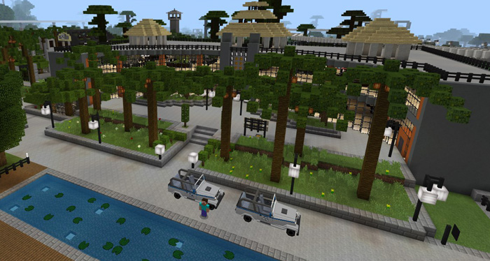 Jurassic Craft World Creation Addon Minecraft Pe Maps