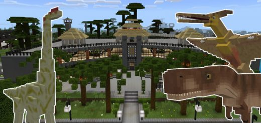 Mctemplate mcpe dl jurassic craft world creation addon gumiabroncs Images