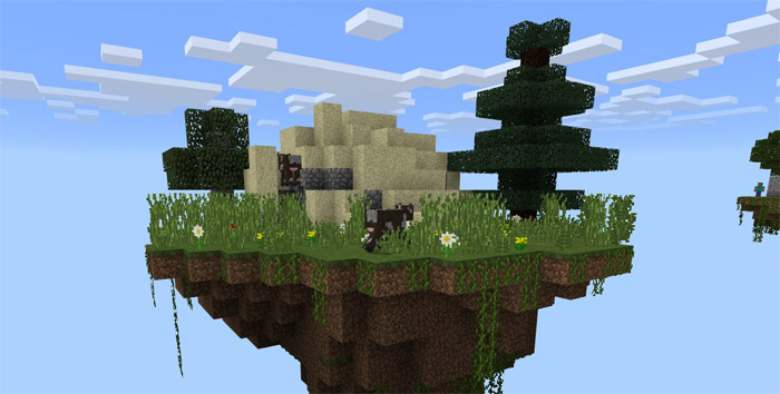Kidsource Easy Skyblock Challenge [Survival] | Minecraft PE Maps