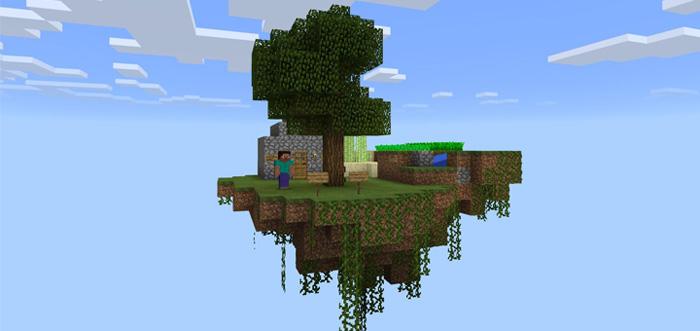 Kidsource Easy Skyblock Challenge [Survival]   Minecraft PE Maps
