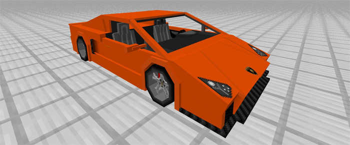 Sports Car: Lamborghini Add-on | Minecraft PE Mods & Addons