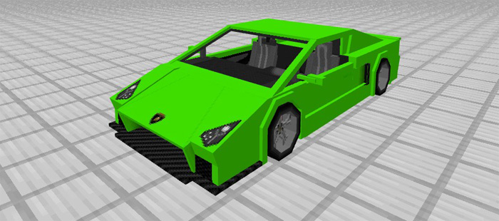 Sports Car: Lamborghini Add On | Minecraft PE Mods U0026 Addons