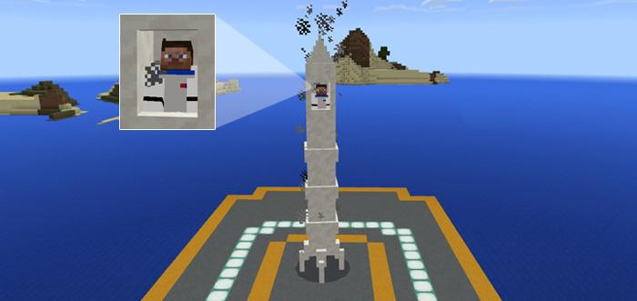 Mine Rocket Add On Minecraft Pe Mods Addons