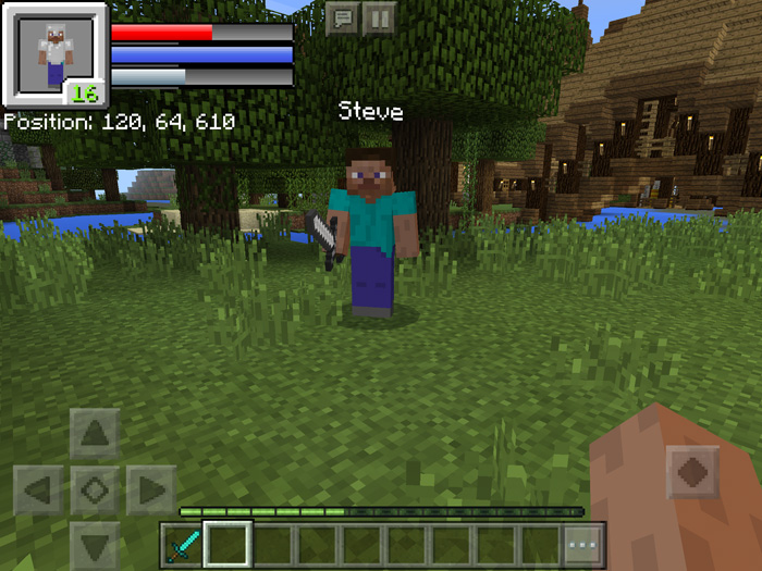 RPG HUD Resource Pack | Minecraft PE Mods & Addons