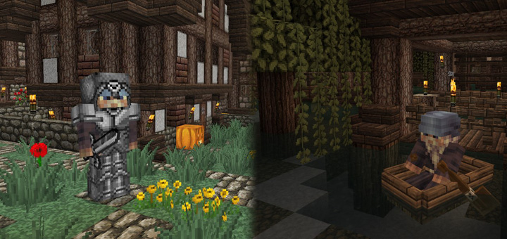 The Last Kingdom Stonehaven Swampton Skrimville Creation - The last of us minecraft adventure map download